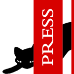 Press Room stalking cat logo